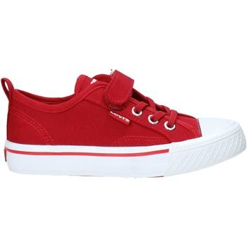 Schoenen Kinderen Lage sneakers Levi's VORI0005T Rood