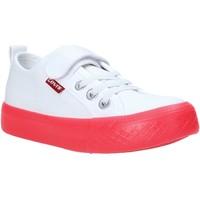 Schoenen Kinderen Lage sneakers Levi's VORI0062T Wit