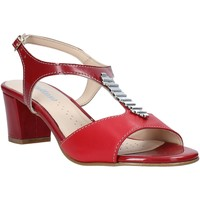 Schoenen Dames Sandalen / Open schoenen Melluso K95352 Rood