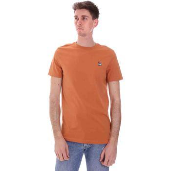 Textiel Heren T-shirts korte mouwen Fila 688567 Oranje