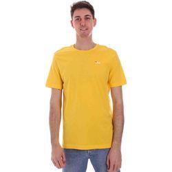 Textiel Heren T-shirts korte mouwen Fila 682201 Geel