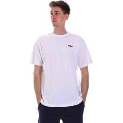 Textiel Heren T-shirts korte mouwen Fila 688448 Wit