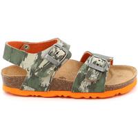 Schoenen Kinderen Sandalen / Open schoenen Grunland SB1226 Groen