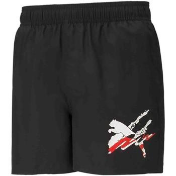 Textiel Heren Zwembroeken/ Zwemshorts Puma 586743 Zwart