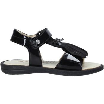 Schoenen Meisjes Sandalen / Open schoenen Naturino 502579 61 Zwart