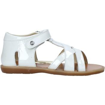 Schoenen Meisjes Sandalen / Open schoenen Naturino 502333 01 Wit
