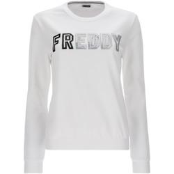Textiel Dames Sweaters / Sweatshirts Freddy S1WCLS4 Wit