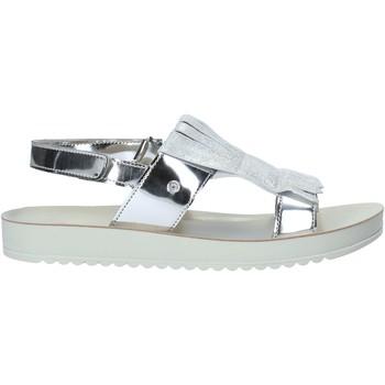Schoenen Meisjes Sandalen / Open schoenen Naturino 502282 61 Zilver