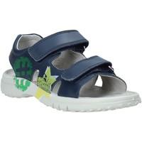 Schoenen Kinderen Sandalen / Open schoenen Naturino 502849 01 Blauw