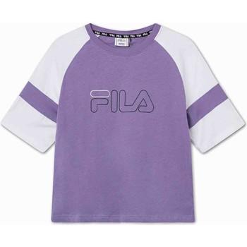 Textiel Kinderen T-shirts korte mouwen Fila 683330 Paars