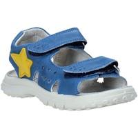 Schoenen Kinderen Sandalen / Open schoenen Naturino 502451 01 Blauw