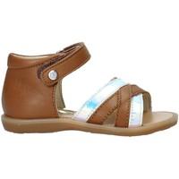 Schoenen Meisjes Sandalen / Open schoenen Naturino 502678 02 Bruin