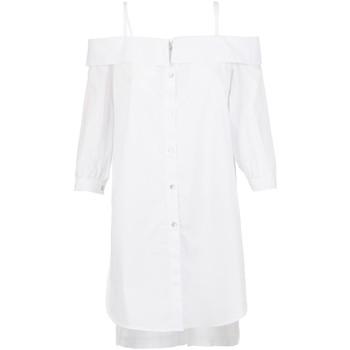 Textiel Dames Overhemden Café Noir JC6260 Wit