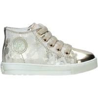 Schoenen Meisjes Hoge sneakers Falcotto 2013571 10 Goud