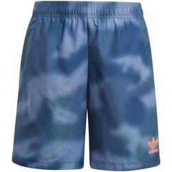 Textiel Kinderen Zwembroeken/ Zwemshorts adidas Originals GN4133 Blauw