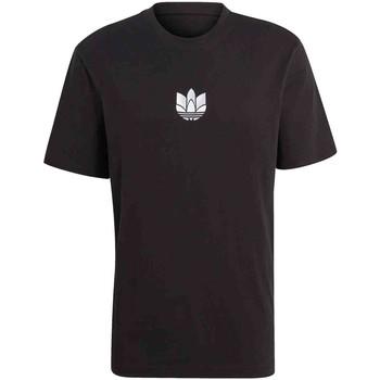 Textiel Heren T-shirts korte mouwen adidas Originals GN3548 Zwart