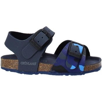 Schoenen Kinderen Sandalen / Open schoenen Grunland SB1646 Blauw