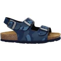 Schoenen Kinderen Sandalen / Open schoenen Grunland SB1681 Blauw