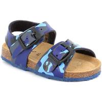 Schoenen Kinderen Sandalen / Open schoenen Grunland SB0383 Blauw