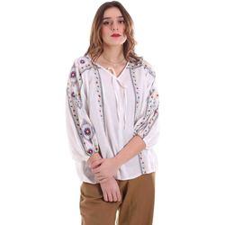 Textiel Dames Tops / Blousjes Alessia Santi 011SD45039 Wit