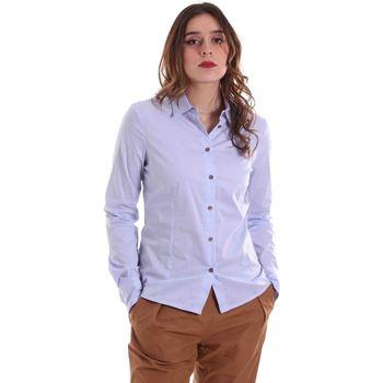 Textiel Dames Overhemden Alessia Santi 011SD45049 Blauw