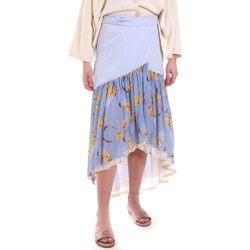 Textiel Dames Rokken Alessia Santi 011SD75003 Blauw