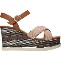 Schoenen Dames Sandalen / Open schoenen Wrangler WL11673A Roze