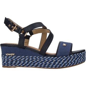 Schoenen Dames Sandalen / Open schoenen Wrangler WL11690A Blauw