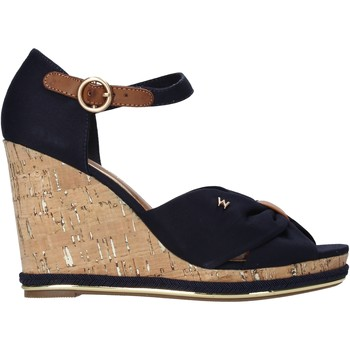 Schoenen Dames Sandalen / Open schoenen Wrangler WL11652A Blauw