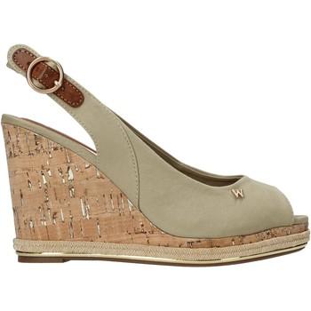 Schoenen Dames Sandalen / Open schoenen Wrangler WL11651A Beige