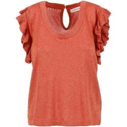 Textiel Dames Tops / Blousjes Café Noir JM6190 Rood