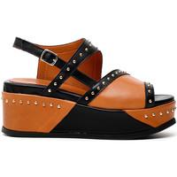 Schoenen Dames Sandalen / Open schoenen Café Noir HH1380 Zwart