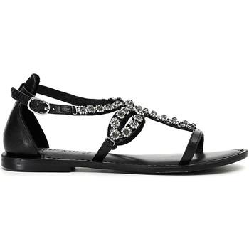 Schoenen Dames Sandalen / Open schoenen Café Noir XB1070 Zwart