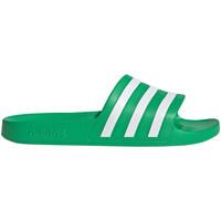 Schoenen Kinderen Leren slippers adidas Originals FY8048 Groen