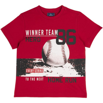 Textiel Kinderen T-shirts korte mouwen Chicco 09067134000000 Rood