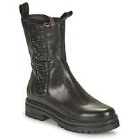 Schoenen Dames Laarzen Mjus DOBLE SQUARE Zwart