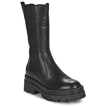 Schoenen Dames Hoge laarzen Mjus LATERAL Zwart