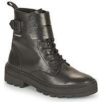 Schoenen Dames Laarzen Palladium Manufacture CULT 03 NAP Zwart