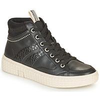 Schoenen Dames Hoge sneakers Palladium Manufacture TEMPO 03 SYN Zwart