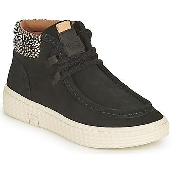 Schoenen Dames Hoge sneakers Palladium Manufacture TEMPO 10 SUD Zwart