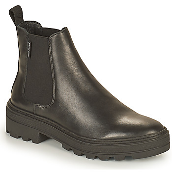 Schoenen Dames Laarzen Palladium Manufacture CULT 01 NAP Zwart