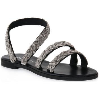 Schoenen Dames Sandalen / Open schoenen Mosaic NERO BRAIDS Nero
