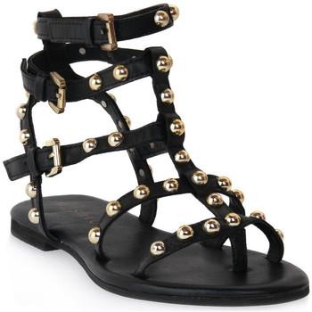 Schoenen Dames Sandalen / Open schoenen Mosaic 1600 VITELLO NERO Nero