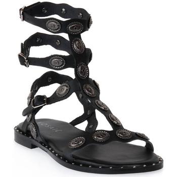 Schoenen Dames Sandalen / Open schoenen Mosaic 3030 VITELLO NERO Nero