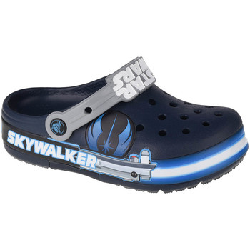Schoenen Kinderen Klompen Crocs Fun Lab Luke Skywalker Lights K Clog Bleu marine