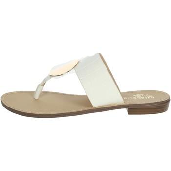 Schoenen Dames Teenslippers Gold & Gold GL632 White