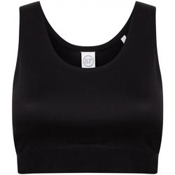 Textiel Meisjes Sport BH's Skinni Fit SM236 Zwart/Zwart