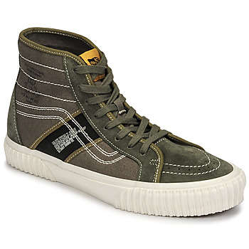 Schoenen Heren Hoge sneakers Vans SK8-HI GYM ISSUE Kaki