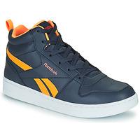 Schoenen Kinderen Hoge sneakers Reebok Classic REEBOK ROYAL PRIME Marine / Oranje
