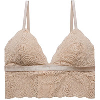 Ondergoed Dames Bralettes/zonder beugel Underprotection RR1005 LUNA BRALETTE NUDE Beige